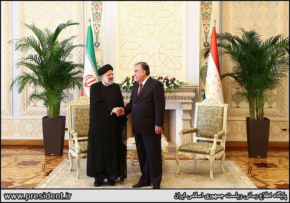 جزئیات نشست روسای جمهور ایران و تاجیکستان؛ از توسعه مناسبات تا وضعیت افغانستان