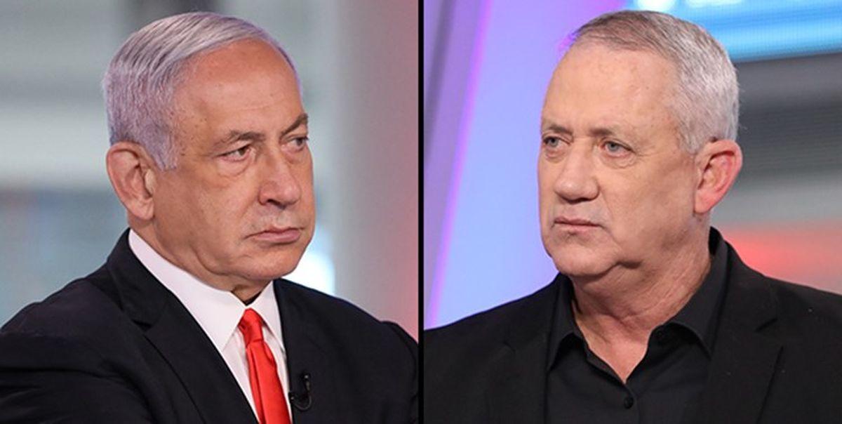 وزیر جنگ اسرائیل وزیر دادگستری شد؛ گانتز: باید نتانیاهو را از قدرت کنار زد