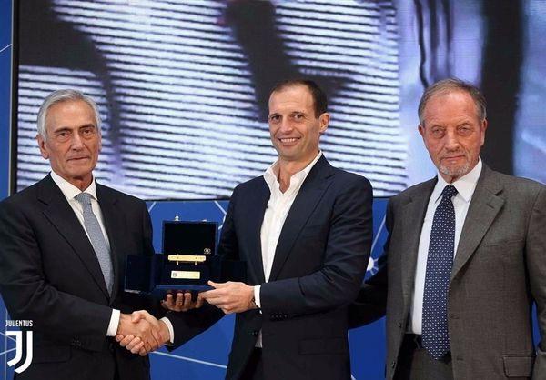 بهترین مربی سال ایتالیا انتخاب شد