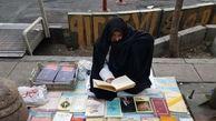 گفتوگو با مسنترین دستفروش زن در میدان انقلاب