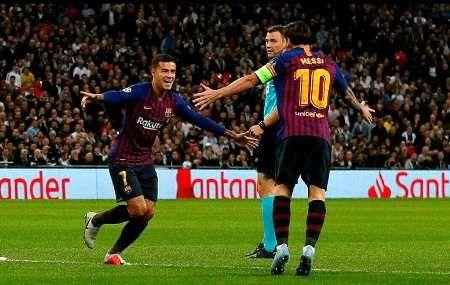 برتری بارسلونا، اینتر و دورتموند و شکست ناپولی در لیگ قهرمانان اروپا