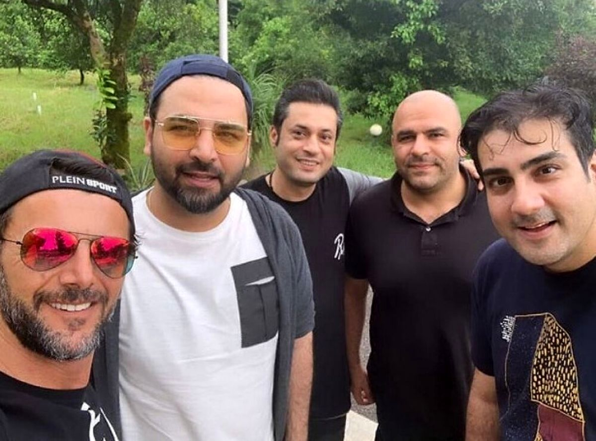 تصاویر لورفته از خودرو میلیاردی و ثروت احسان علیخانی