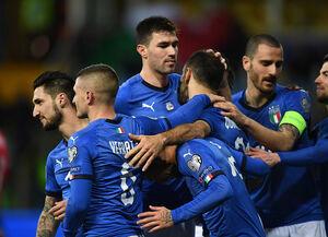 تغییرمهم تیم ملی فوتبال ایتالیا از لاجوردی به سبز+عکس