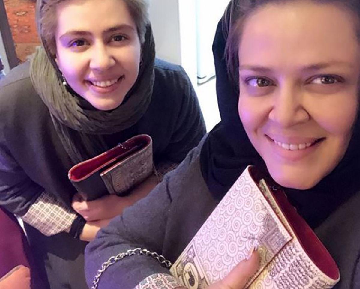 دختر بهاره رهنما به ایران بازگشت +تصاویر منتشرشده بهاره رهنما و دخترش