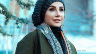 تیپ زمستانی شبنم قلی خانی + عکس