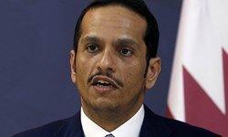 وزیر خارجه قطر: ایران جزئی از این منطقه است و باید با آن گفتوگو کرد