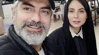 عشق و عاشقی مهدی پاکدل و همسر جدیدش سوژه شد +عکس