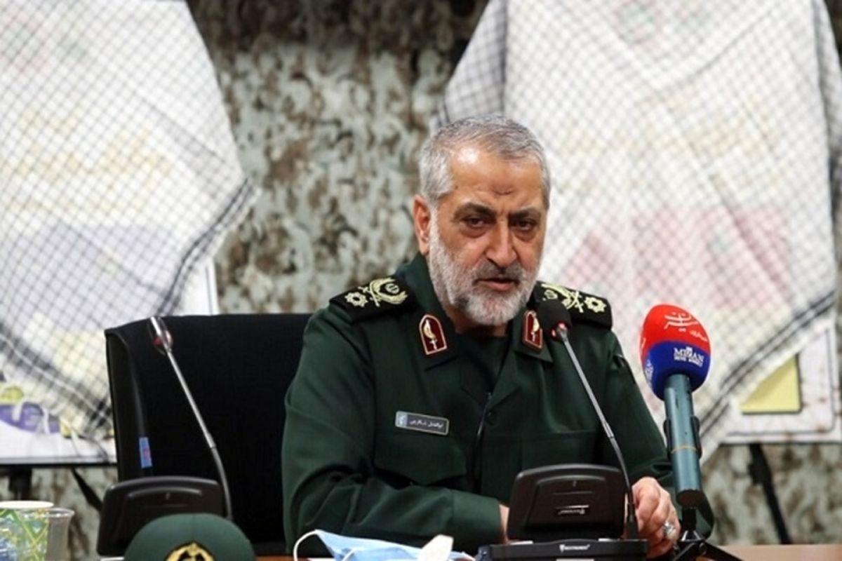 سردار شکارچی: دشمن از طمع به تمامیت ارضی ایران وحشت دارد