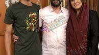 امیرحسین مدرس در کنار خانواده+عکس
