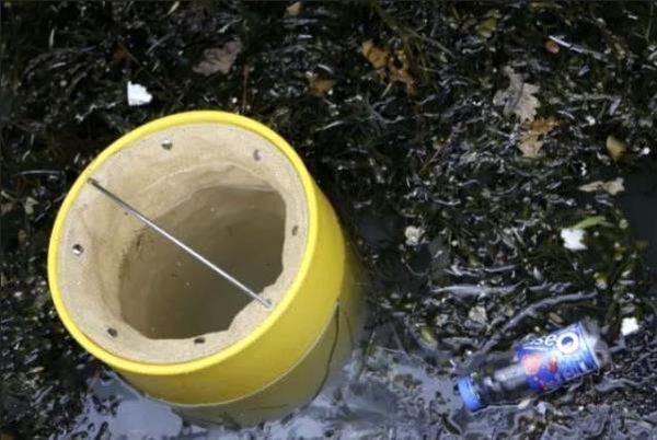 این سطل زباله های اقیانوسی را جمع آوری می کند