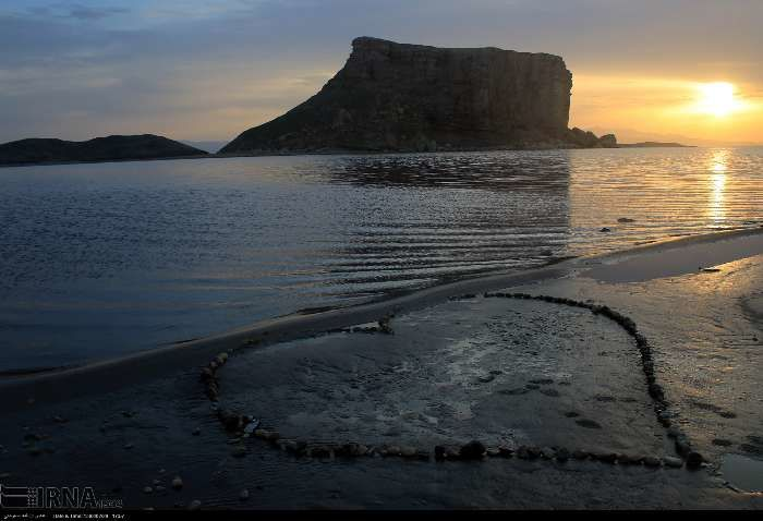 تصاویری زیبا از دریاچه ارومیه