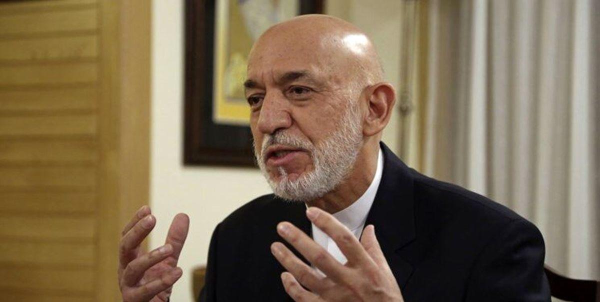 اظهارات جالب کرزای در مورد مذاکرات تهران برای افغانستان
