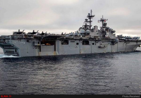 ناو هواپیمابر «جان سی استنیس» در چند روز آینده وارد خلیجفارس میشود