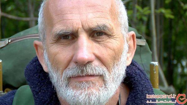 پیرمرد جذاب روس/ ولادیمیر نسین، سفر به دور دنیا با پای برهنه