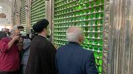 حضور ظریف در حرم امام خمینی