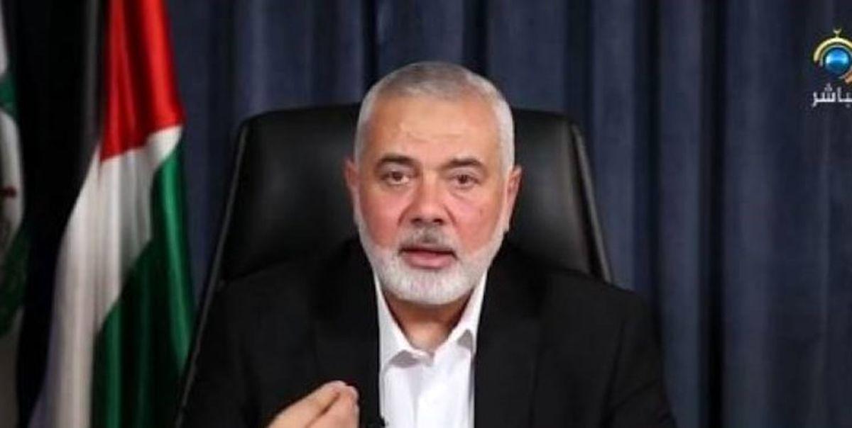 هنیه: ایران تعهد قاطعانه به حمایت از مقاومت فلسطین دارد