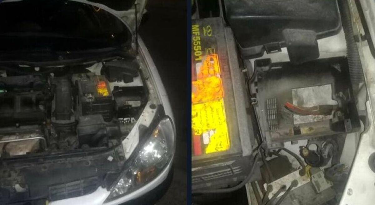 دزدی از ماشین نماینده تهران