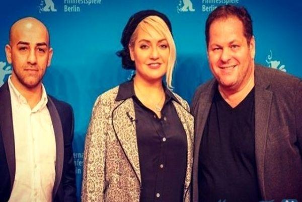تیپ جدید مهناز افشار در اکران فیلم خارجی