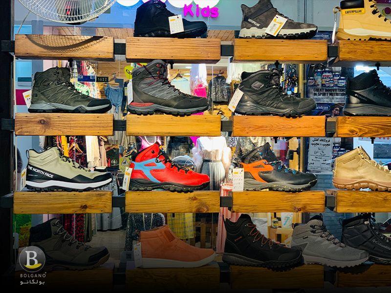 کفش کوهنوردی زنانه و مردانه بولگانو