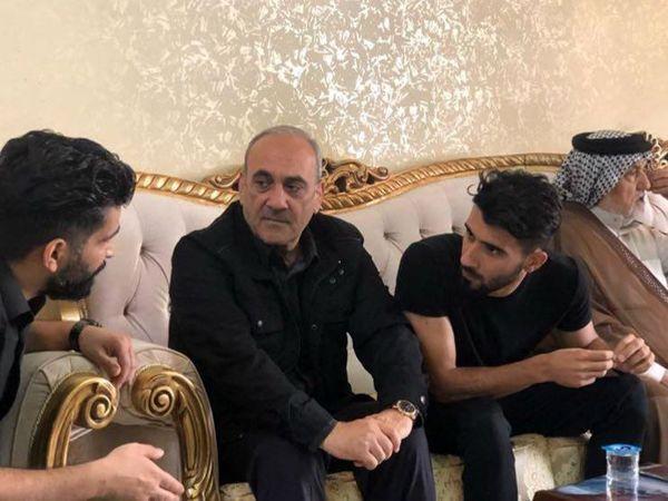 حضور گرشاسبی در خانهی بشار رسن (عکس)