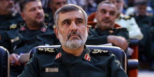 سردار حاجیزاده: آمریکا تابوت سربازانش را سفارش دهد