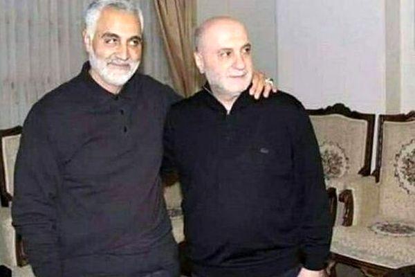 آخرین عکس سردار سلیمانی قبل از ترور
