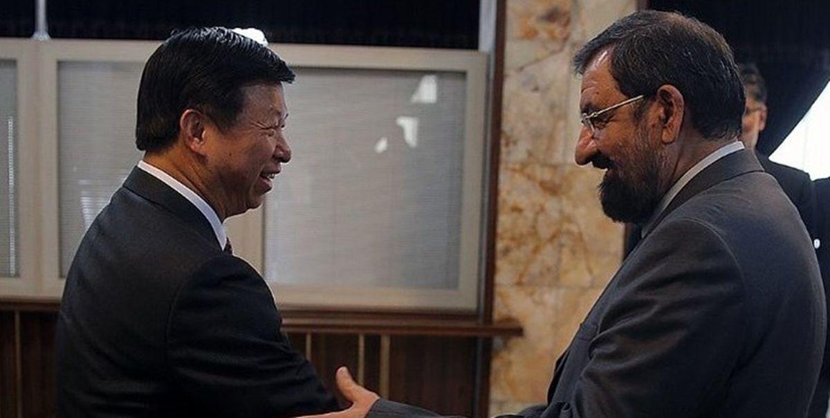 وزیر بینالملل حزب کمونیست چین به محسن رضایی پیام داد