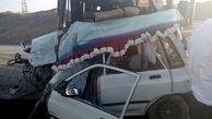 تصادف خونین مینیبوس اردوی دانشآموزی در یزد
