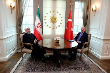 دیدار روحانی و اردوغان