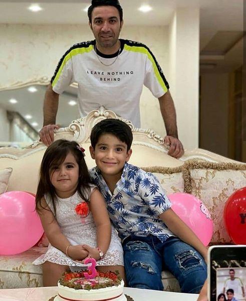 جواد نکونام و تولد دخترش+عکس