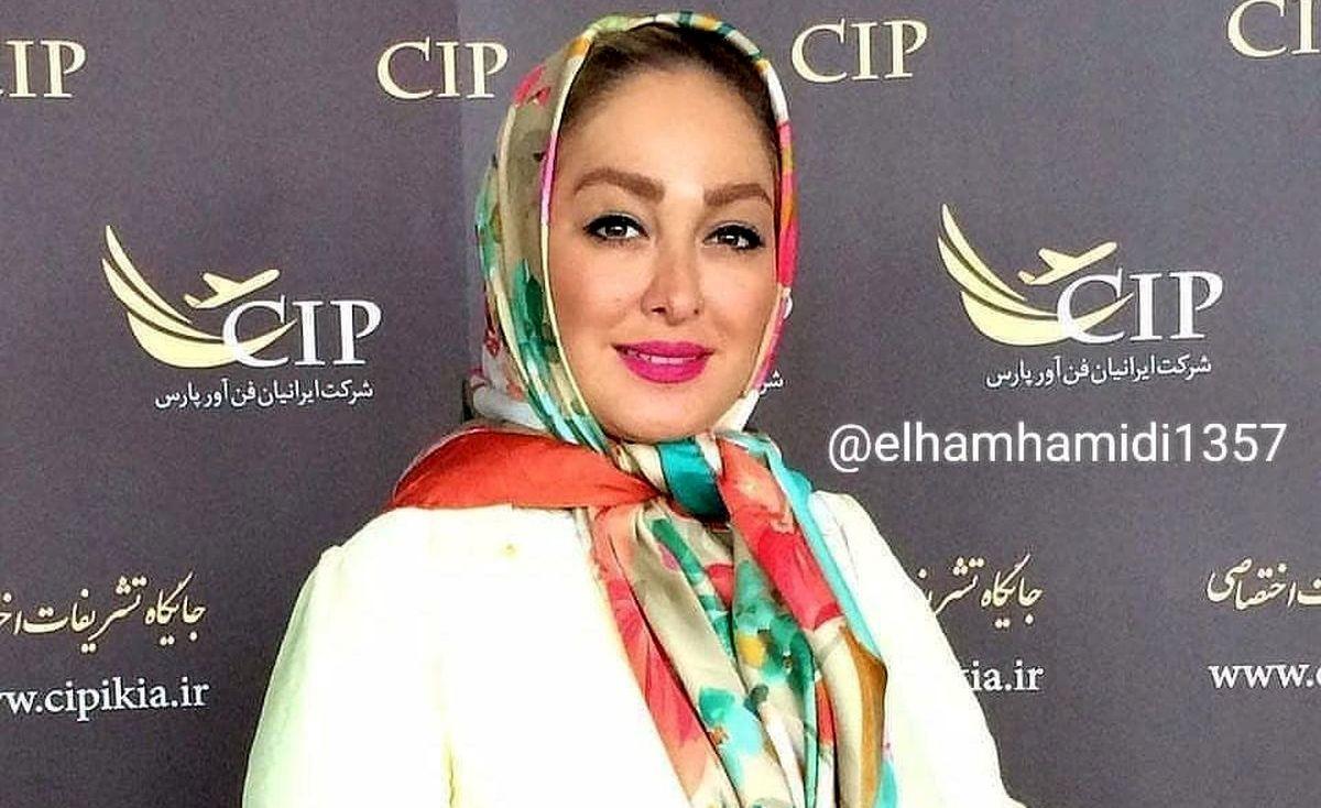 علت طلاق الهام حمیدی از همسر اولش فاش شد +عکس