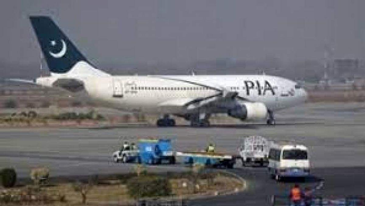 نخستین پرواز پاکستانی در فرودگاه کابل به زمین نشست
