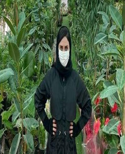 عکس الناز شاکردوست و واکنش به ویروس کرونا در ایران