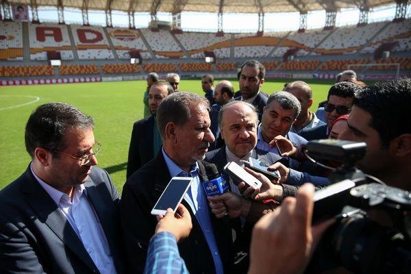 وعده جهانگیری به بانوان مشتاق حضور در استادیومها