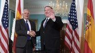 جوزپ بورل: ما خواهان دوام برجام هستیم؛ ایران هر کاری می تواند انجام دهد