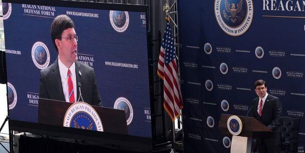 لفاظی و اتهامزنی وزیر دفاع آمریکا علیه مواضع منطقهای ایران