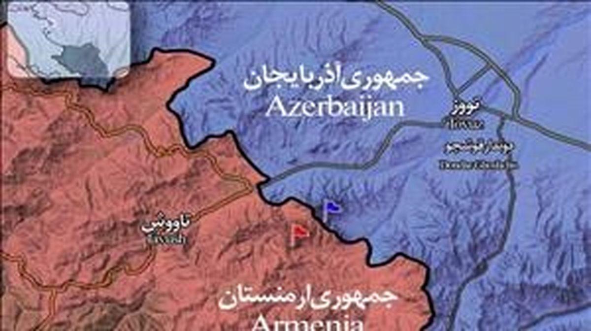 درخواست ارمنستان از ایران در جریان مناقشه قرهباغ