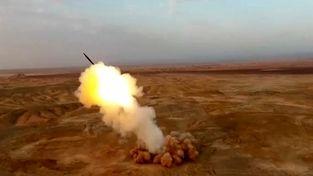 تصاویر غرش قدرتمند موشک های بالستیک ایرانی از زیر زمین