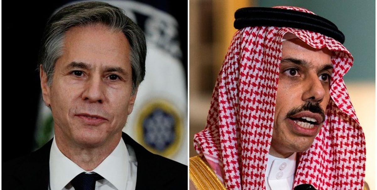 ایران، محور دیدار وزیر خارجه عربستان با همتای آمریکایی