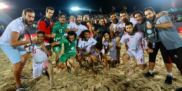 سه بارقهرمانی ساحلی بازان ایران؛گذر با شش گل از سد اسپانیا در فینال