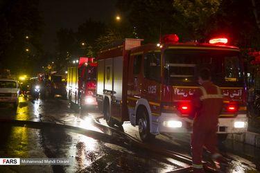 آتش سوزی سینا اطهر