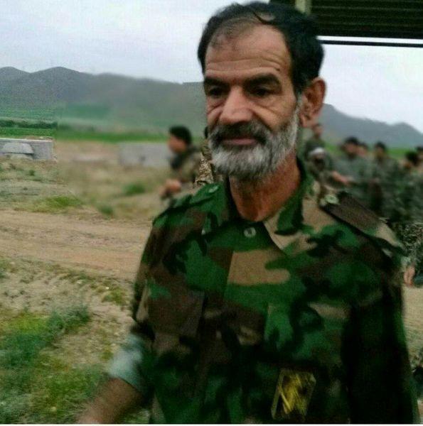 شهادت سردار عبدالله خسروی عضو سپاه در سوریه (عکس)