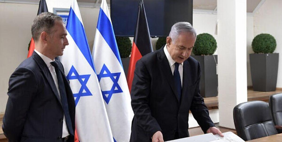 یاوهسرایی ضد ایرانی نتانیاهو در دیدار با وزیر خارجه آلمان