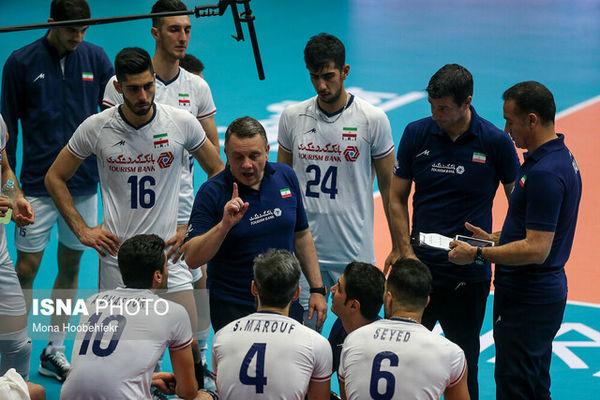 تیم والیبال ایران چگونه به نیمه نهایی لیگ ملتها صعود می کند؟