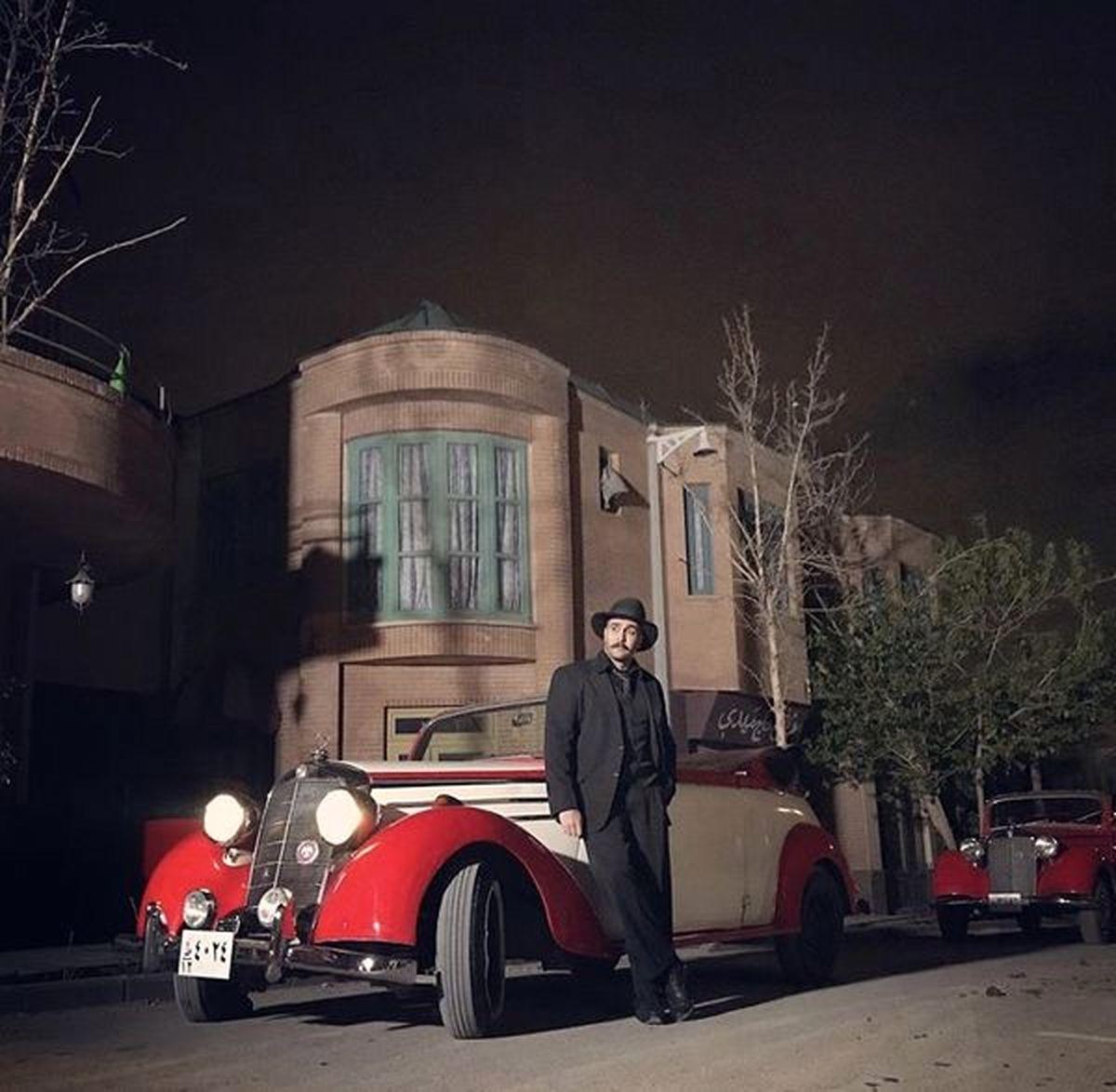 پوریا پورسرخ با یک ژیان سرخ پلاک اصفهان-١١