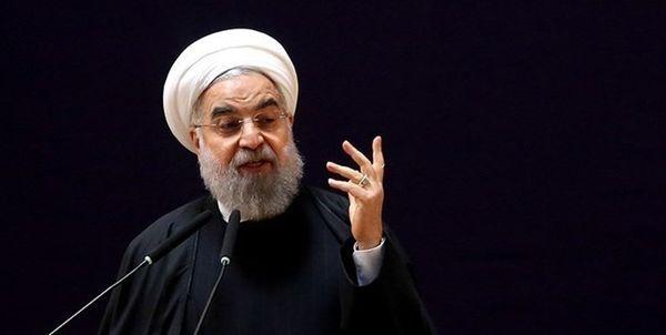 روحانی: پیام های خصوصی آمریکا برای مذاکره برخلاف شعارهای عمومی آنهاست