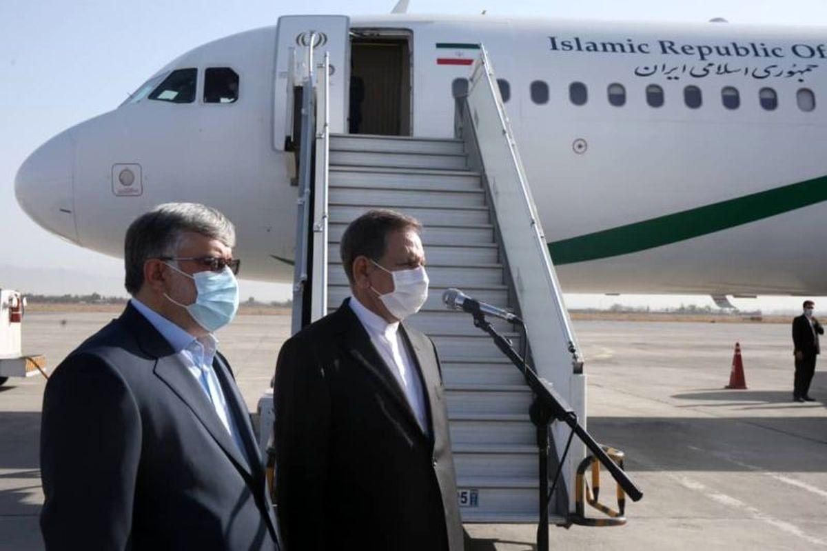 اهداف سفر جهانگیری به مشهد