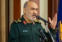 سردار سلامی: آمریکا را متوقف و قدرتمان را به آنها نشان دادیم