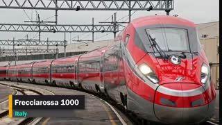 ببینید: سریعترین قطارهای جهان