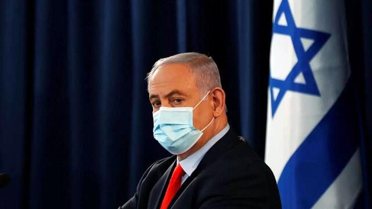 نقشه ایران در اتاق نتانیاهو